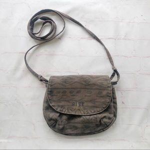 [PINK] Victoria's Secret canvas crossbody purse